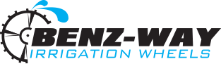 Benz-Way Irrigation Wheels Logo